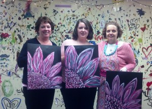 Paint Night 2014 Kayla Kathy Me (3)