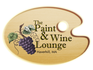 Paint and Wine Lounge Haverhill MA Logo