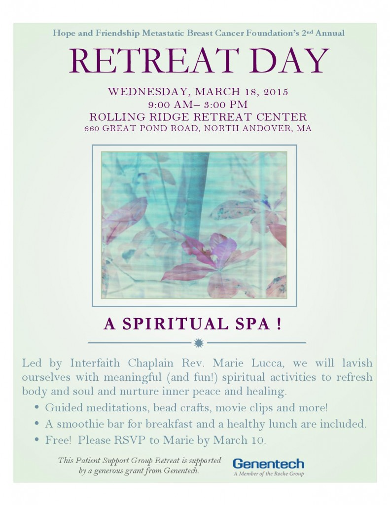 Retreat March 2015 Flyer as Jpeg