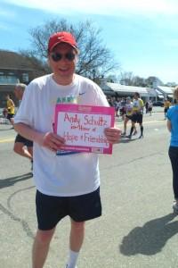 Andy S. Boston Marathon 2014