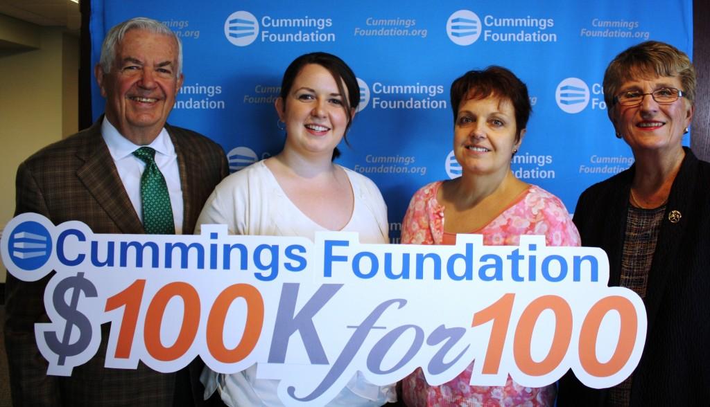 Cummings Foundation Photo Mr. and Mrs. Cummings Heather Kayla 2015