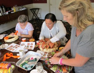 2017 Retreat Marianne, Kim, Heather