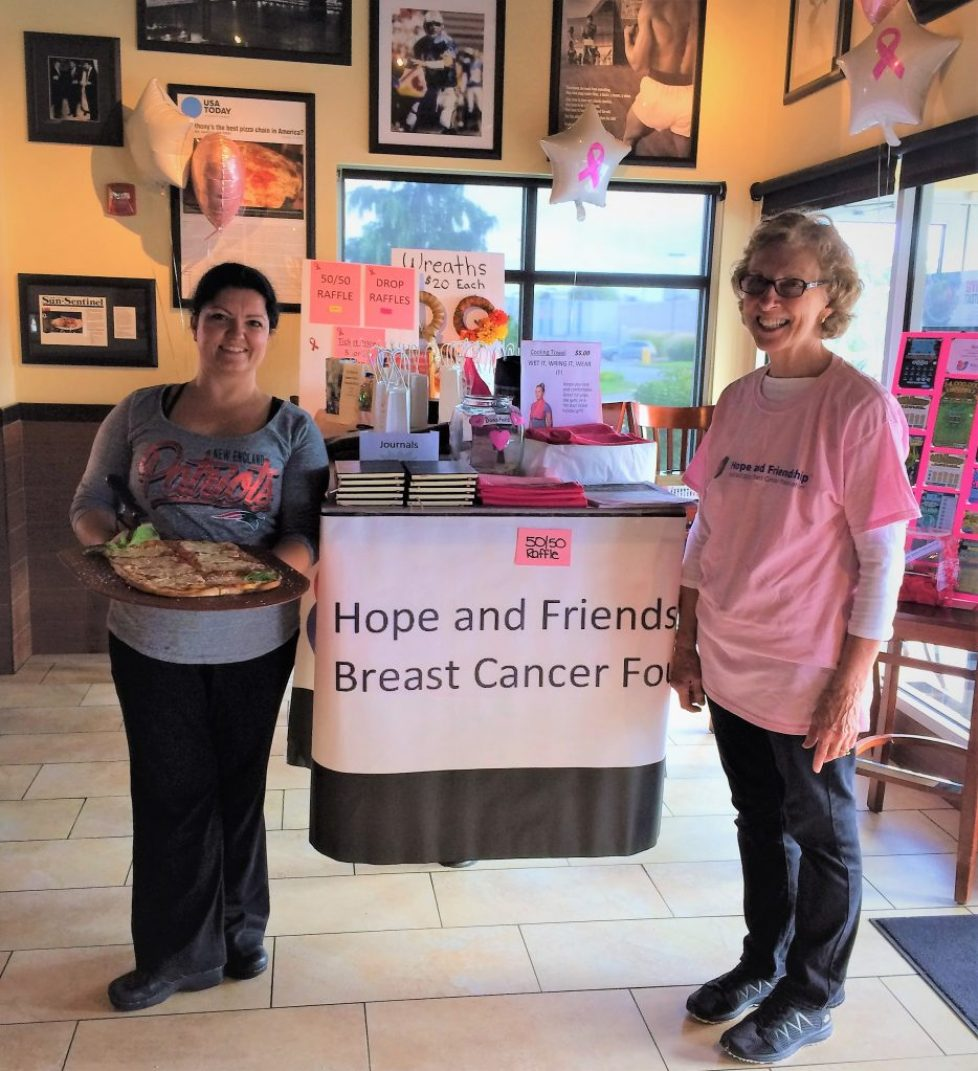 Anthony's Coal-Fired Pizza Fundraiser for the Hope and Friendship MBCF is a BLAST on October 4, 2018!