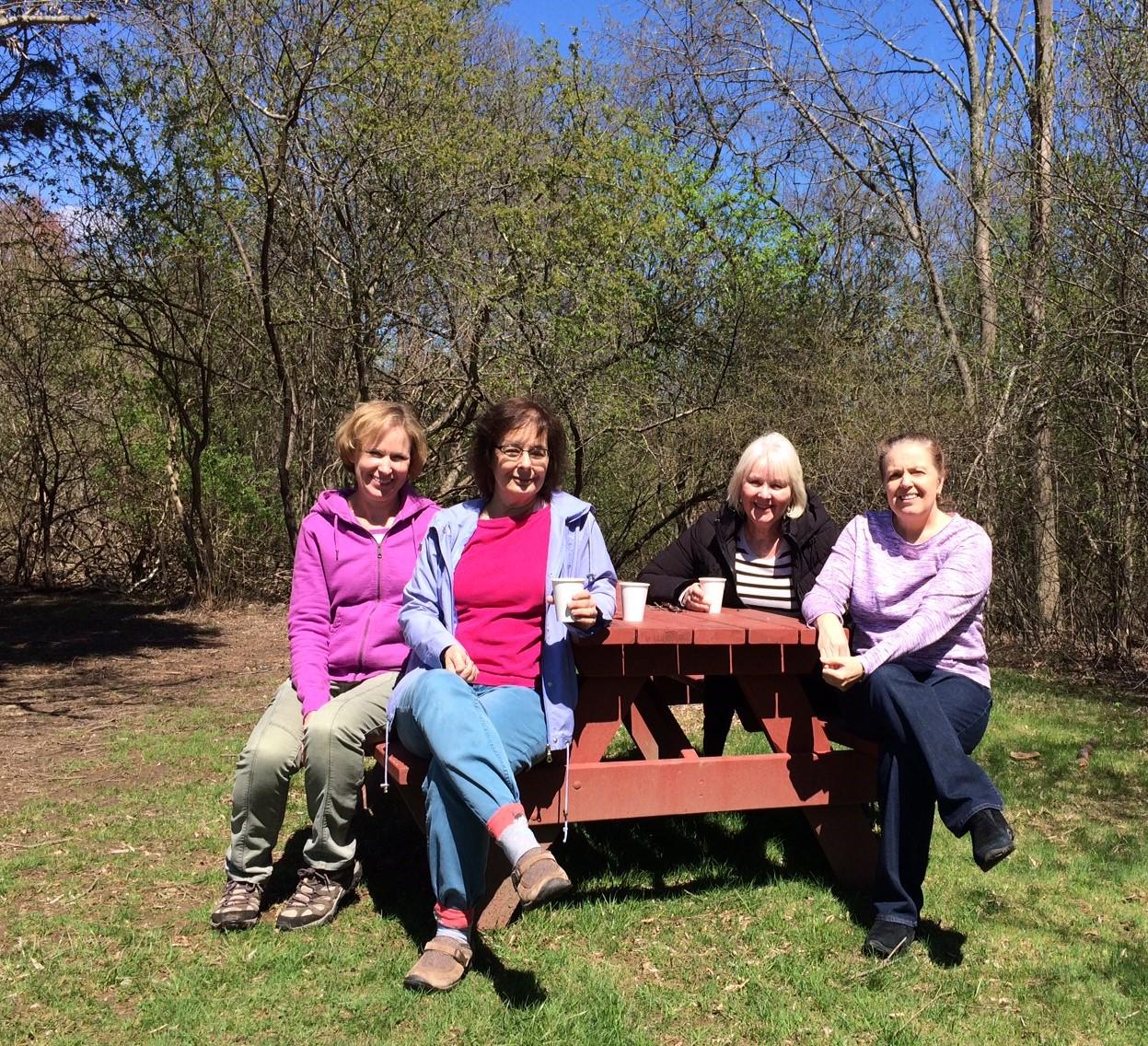 Spring Retreat 2019 at Picnic Table