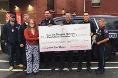 Stoneham Police Department for their donation from the Pink Patch Program